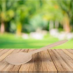 Cuchara de madera, revestimiento ecológico