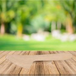 Cuchillo de madera, revestimiento ecologico