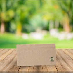Servilleta papel reciclado 33x32cm 1 capa
