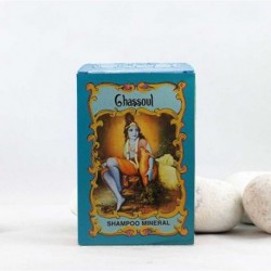 Champu henna polvo Gassoul mineral - Radhe Shyam -