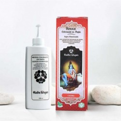 Henna en pasta 'Caoba' - Radhe Shyam -