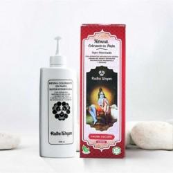 Henna en pasta 'Caoba Oscuro' - Radhe Shyam -