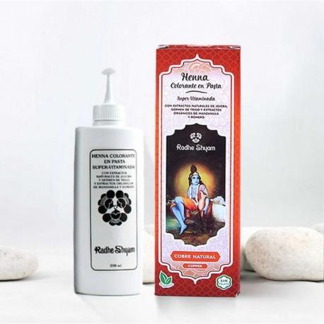 Henna en pasta 'Cobre Natural' - Radhe Shyam -