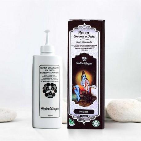Henna en pasta 'Negro' - Radhe Shyam -
