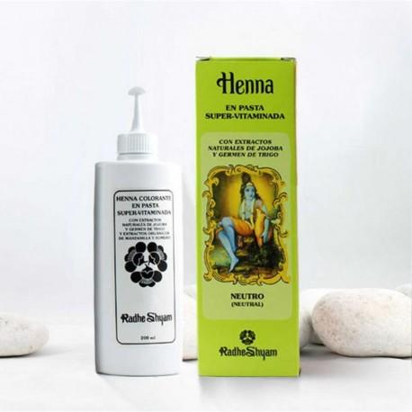 Henna en pasta 'Neutra' - Radhe Shyam -