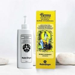 Henna en pasta 'Rubio Dorado' - Radhe Shyam -