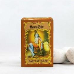 Henna en polvo 'Castaño Claro'  - Radhe Shyam -