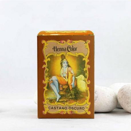 Henna en polvo 'Castaño Oscuro' - Radhe Shyam -