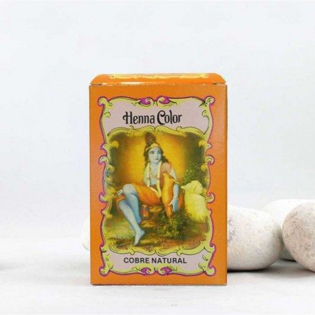 Henna en polvo 'Cobre Natural' - Radhe Shyam -