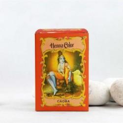 Henna en polvo color 'Caoba'  - Radhe Shyam -