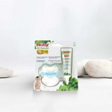 Gel dentición 15 gr con Citroganix + mordedor