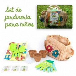 Set de jardinería infantil