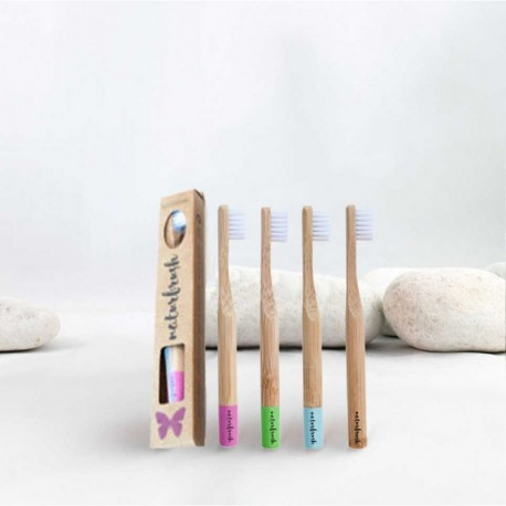 Cepillo dientes de bambú infantil