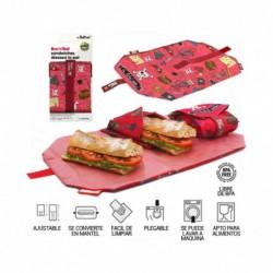 Boc and roll porta alimentos