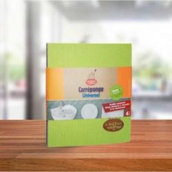 Bayetas celulosa-algodón bio 4 ud